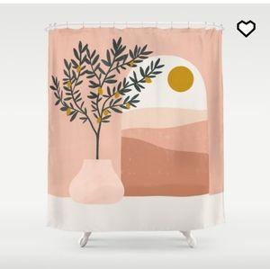 🌼 Brand new Society 6 shower curtain